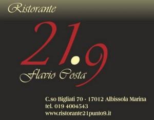 ristorante-21-9-albissola-marina-chef-flavio-costa-logo